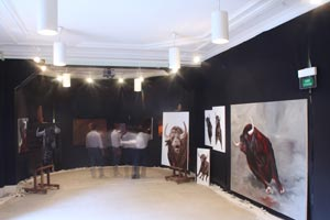 Exposition au pavillon Davioud